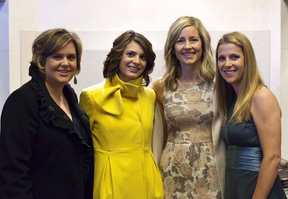 Andi, Connie, Hilary and Lisa