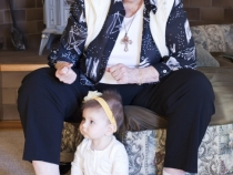 Great Grandma Gladys and Lilia