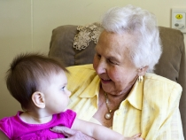 Meeting Great Grandma Rosabelle