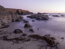 Long exposure sunset at The Sea Ranch