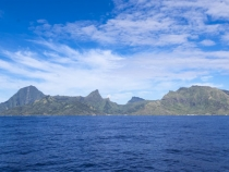 Moorea from the ferry