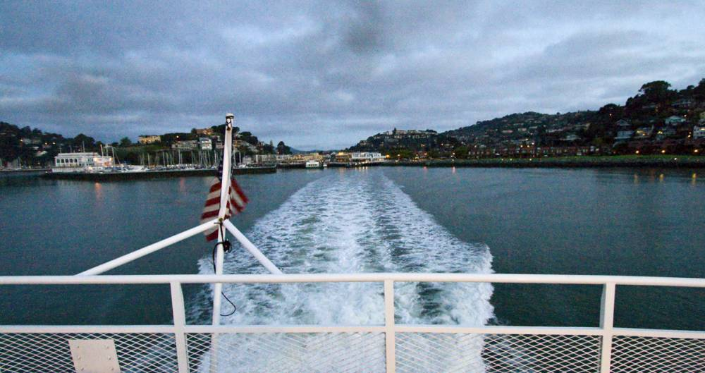 Leaving Tiburon