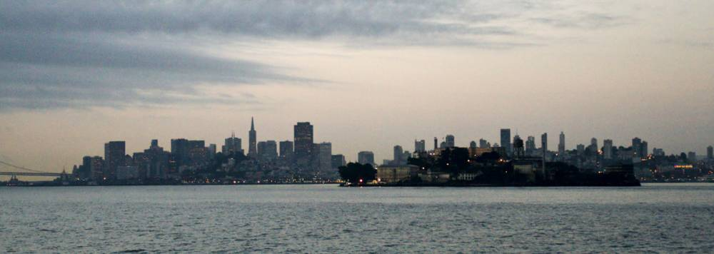 Alcatraz and San Francisco