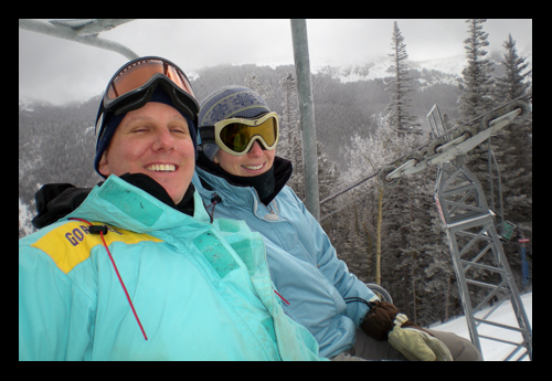 Irby on the Chairlift