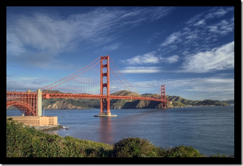 Morning Golden Gate