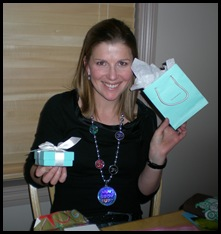 A turquoise box!