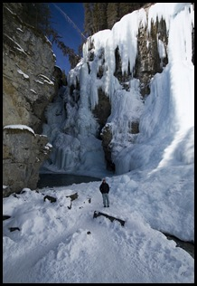 Me in Johnston Canyon