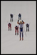 Canmore Nordic Center cross-country ski racing