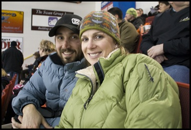 Canmore Eagles hockey game