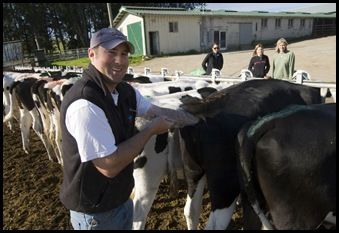 A very close and personal tour of the Bodessi dairy