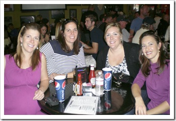 Lisa, Gina, Michelle and Brooke at Firestones
