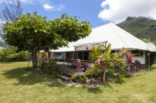 Our abode whilst in Moorea