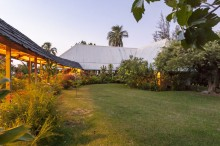 Our house whilst in Moorea