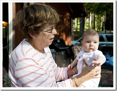 Grandma Carol and Lilia