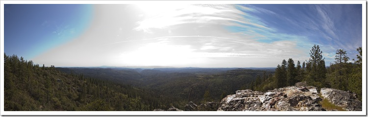 Cougar Rock panoramic
