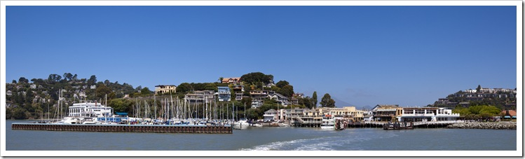 Tiburon from the boat