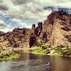 Rafting the Missouri River