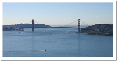 The Golden Gate Bridge from Angel Island