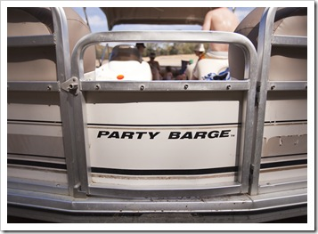 The party barge!