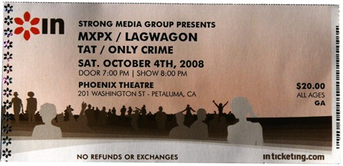 MXPX and Lagwagon