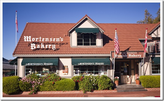 One of the many Danish bakeries in Solvang